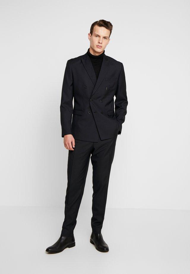 JPRPHILIP DOUBLE BREASTED BLAZER  - Suit - black