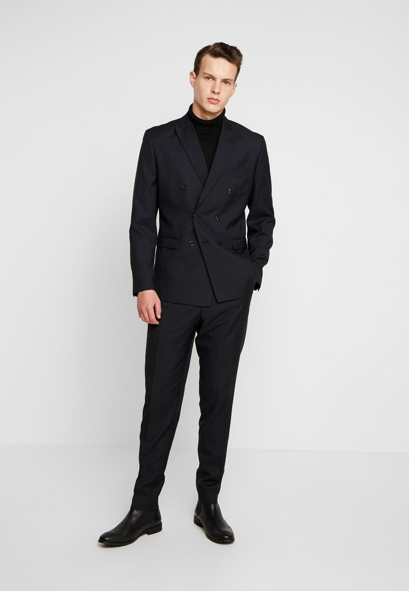 Jack & Jones PREMIUM - JPRPHILIP DOUBLE BREASTED BLAZER  - Suit - black