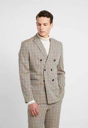 JPRCALI BLAZER - Suit jacket - almond buff