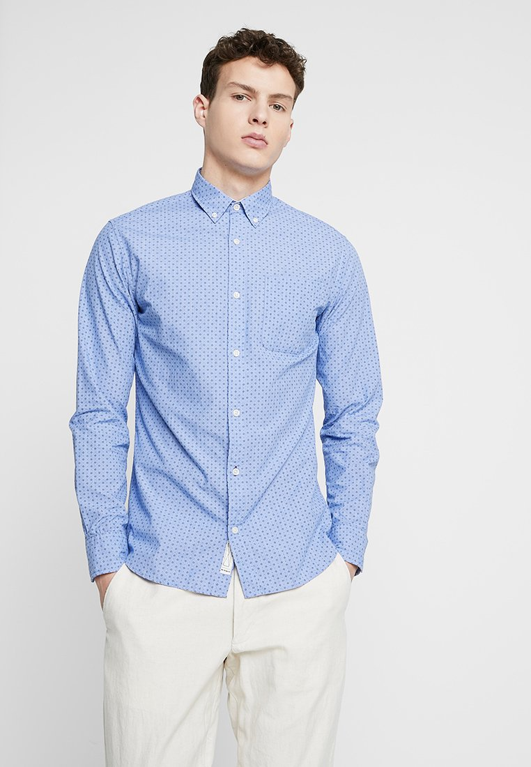 Jack & Jones PREMIUM - JPRCARL ONE POCKET - Shirt - cashmere blue
