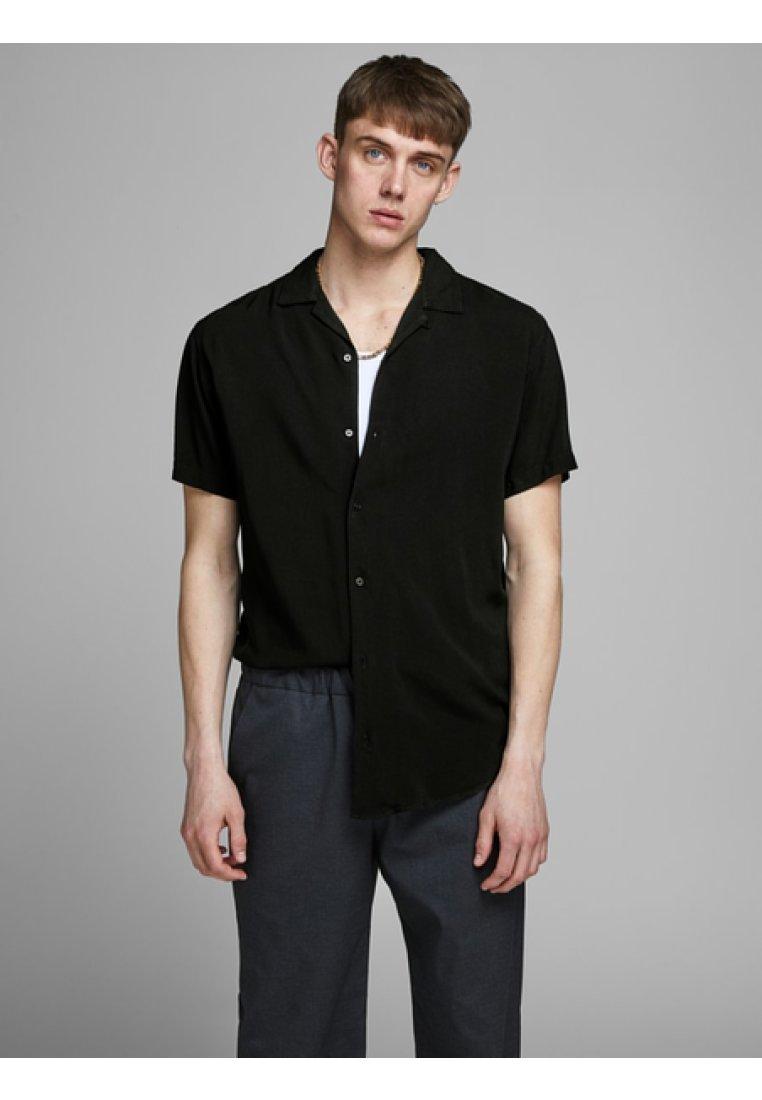 Jack & Jones PREMIUM - EINFARBIGES RESORT - Skjorter - black