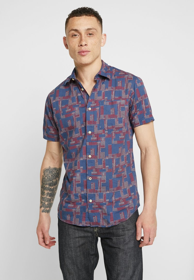 Jack & Jones PREMIUM - JPRBRYSON ONE POCKET - Shirt - mood indigo