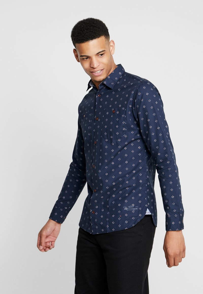 Jack & Jones PREMIUM - JPRCHAD WORKER SLIM FIT - Hemd - navy blazer