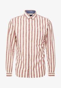 Jack & Jones PREMIUM - JPRMAX STRIPE SHIRT ONE POCKET - Skjorte - fired brick - 3