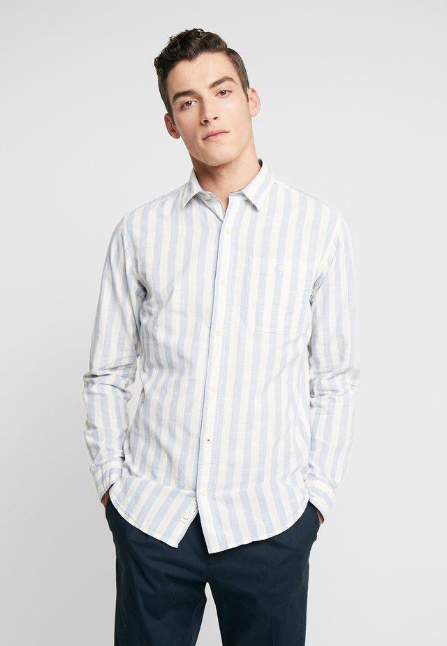 JPRMAX STRIPE SHIRT ONE POCKET - Shirt - faded denim