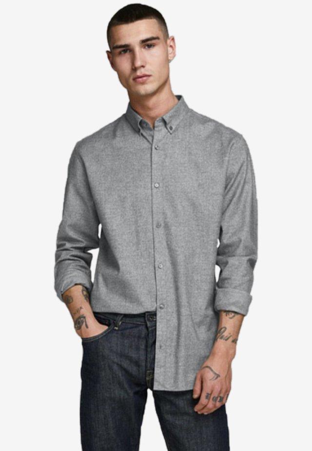 JPRLOGO TWIST SHIRT - Shirt - light grey melange