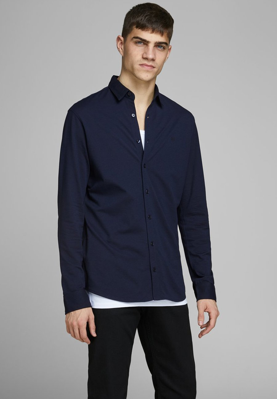 Jack & Jones PREMIUM SCHLICHTES - Koszula biznesowa - navy blazer