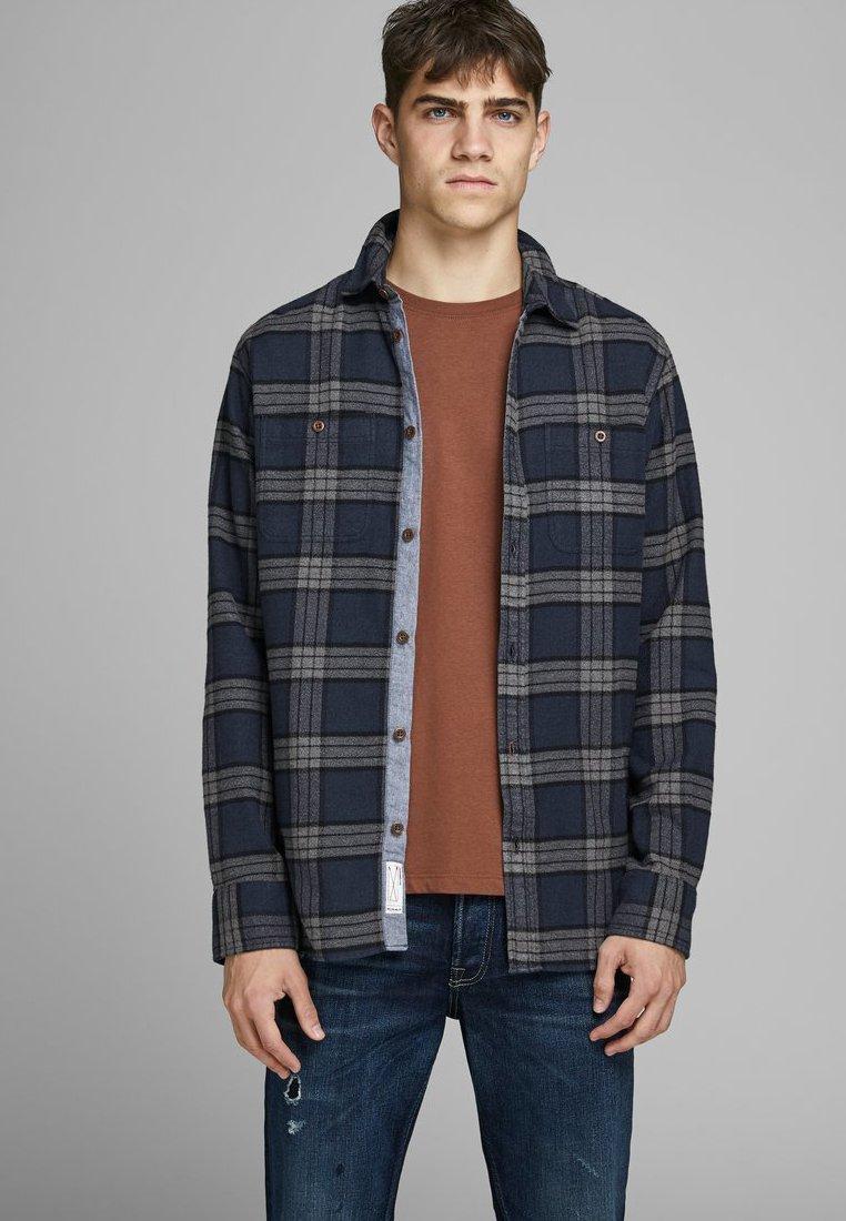 Jack & Jones PREMIUM JPRGREG - Koszula - navy blazer