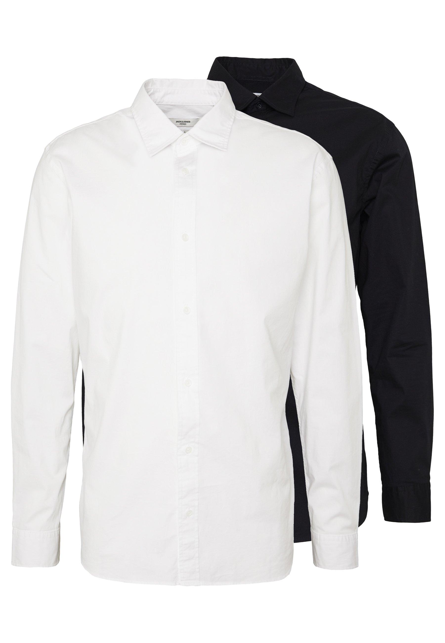Jack & Jones PREMIUM JPRTWO PACK SLIM FIT - Koszula biznesowa - white