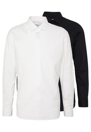 JPRTWO PACK SLIM FIT - Finskjorte - white