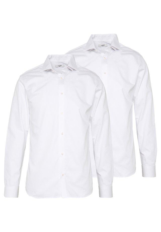 JPRBLA BASIC SHIRT SLIM FIT 2 PACK  - Formal shirt - white