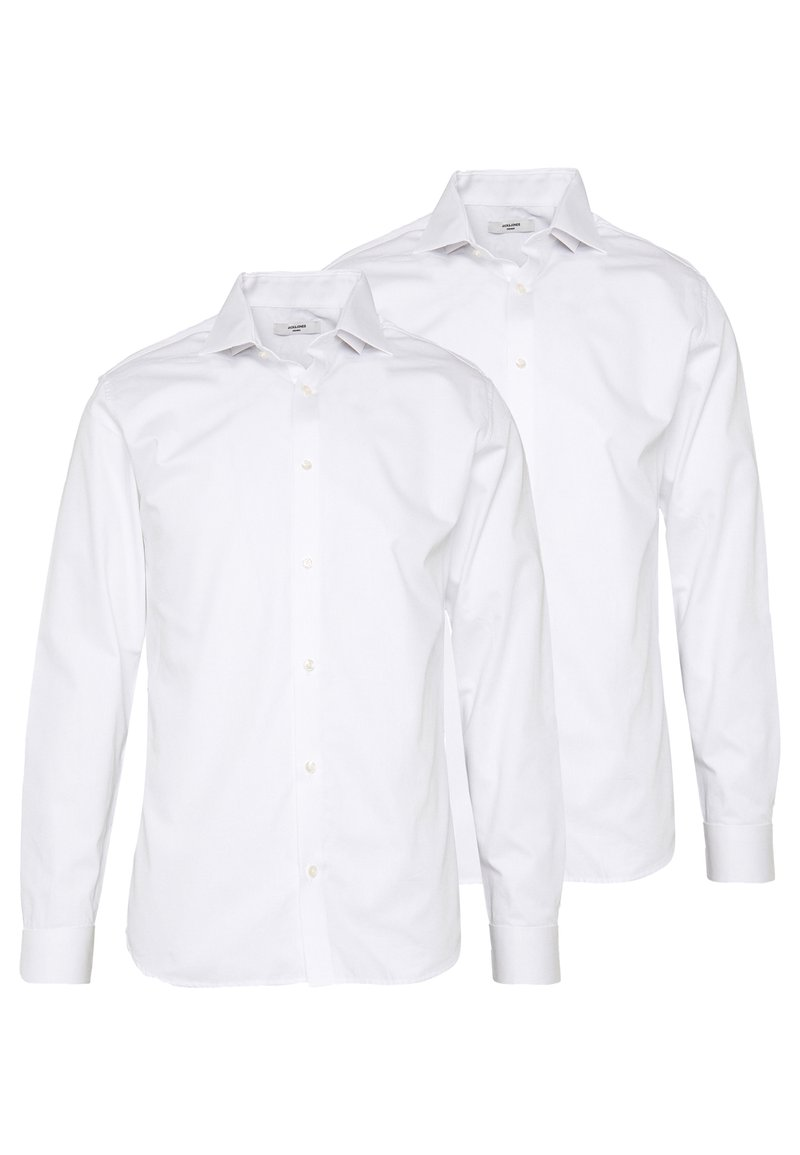 Jack & Jones PREMIUM - JPRBLA BASIC SHIRT SLIM FIT 2 PACK  - Zakelijk overhemd - white