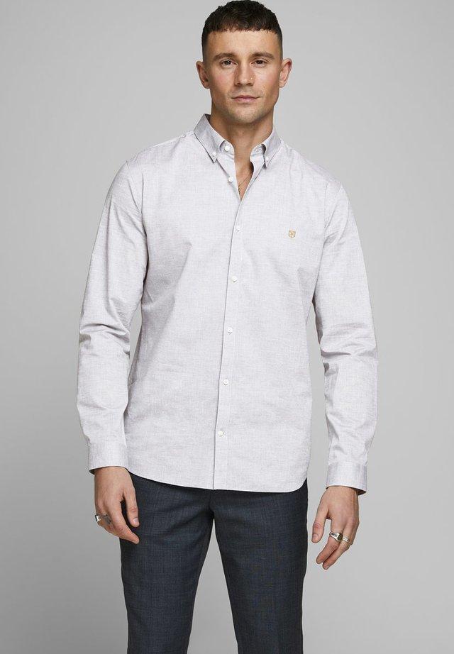 JPRBLASPRING - Camicia - light grey melange