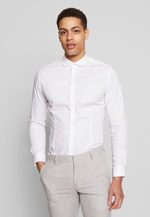 JPRBLASUPER STRETCH - Camicia elegante - white/super slim