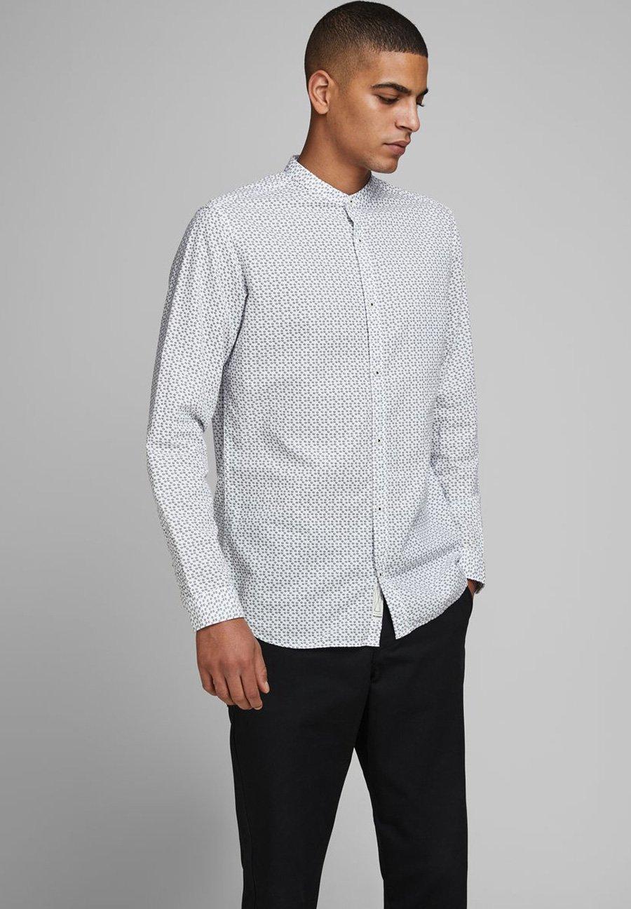 Jack & Jones PREMIUM JPRBLASUMMER BAND PRINT SHIRT - Koszula - white