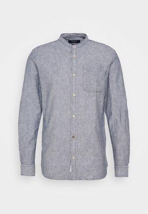 JPRBLUSUMMER DOBBY BAND  - Camicia - navy blazer