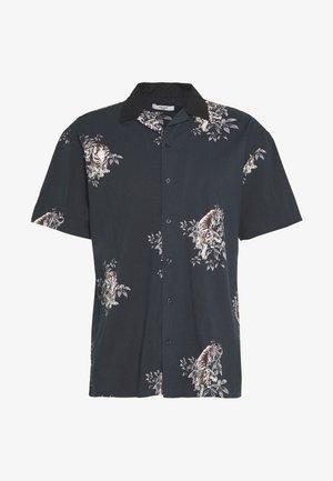 JPRBLAFRED COLLAR SHIRT RELAX - Skjorta - black