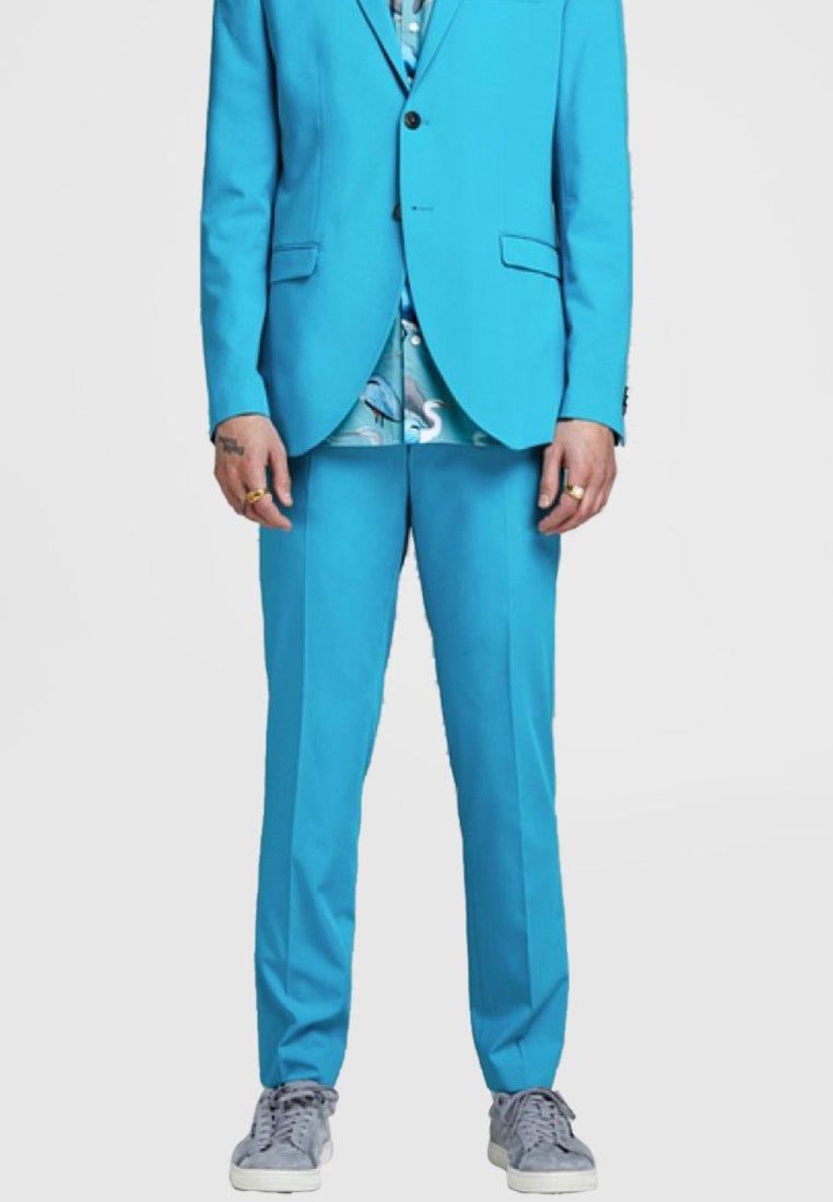 Jack & Jones PREMIUM - Suit trousers - algiers blue