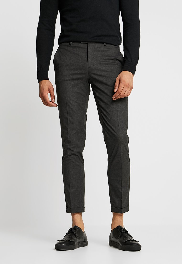 Jack & Jones PREMIUM - JPRSID TROUSER - Trousers - grey melange