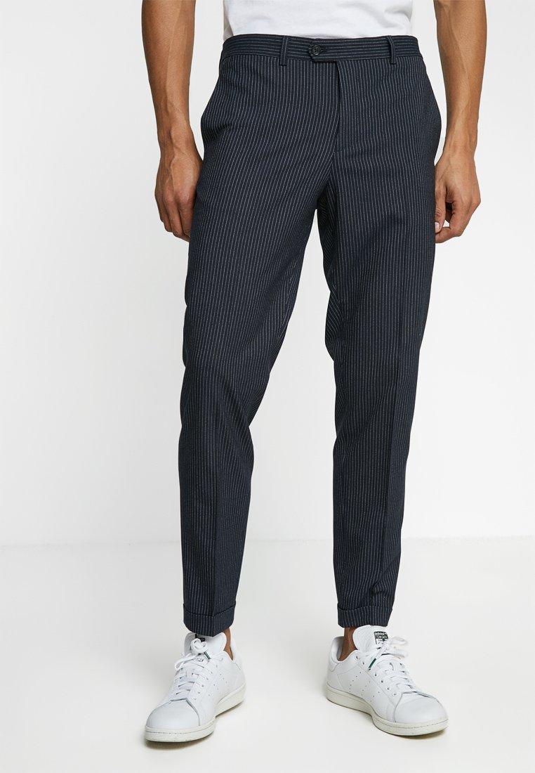 Jack & Jones PREMIUM - JPRSID TROUSER - Pantalon classique - navy blazer/white