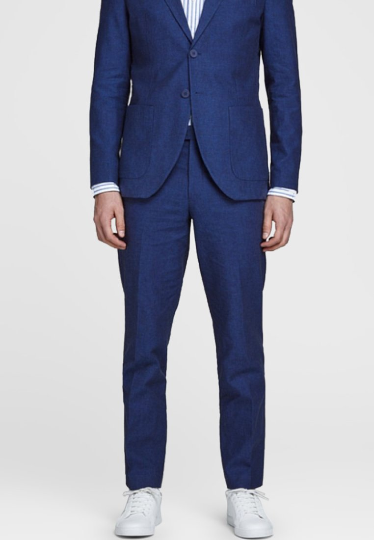 Jack & Jones PREMIUM - Suit trousers - blue