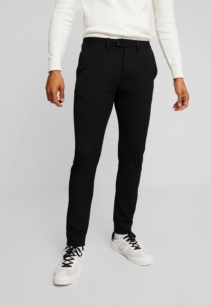 Jack & Jones PREMIUM - JJIMARCO JJCONNOR - Trousers - black