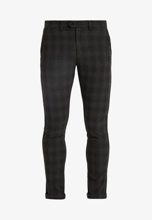 JJIMARCO JJCONNOR CHECK - Chinot - dark grey