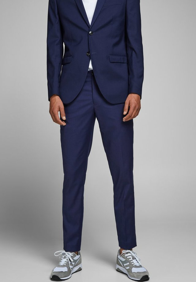 Suit trousers - medieval blue
