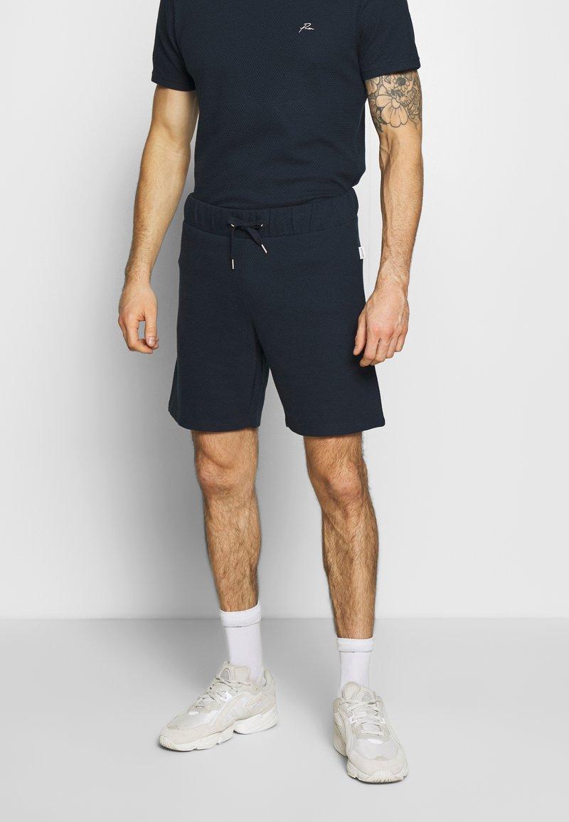 Jack & Jones PREMIUM - JPRFRANCO - Teplákové kalhoty - navy blazer