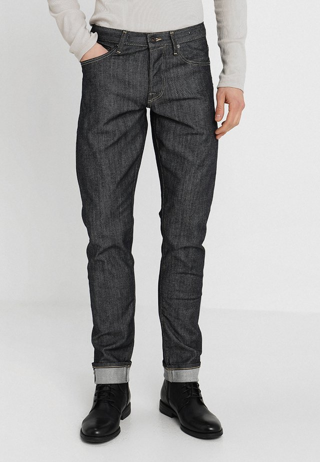 JJIGLENN JJROYAL - Džíny Straight Fit - blue denim