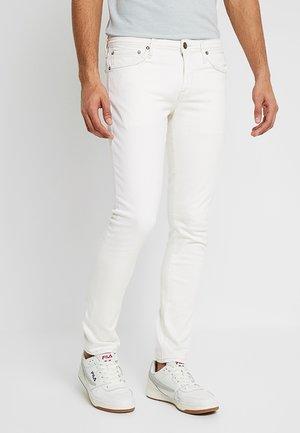 JJIGLENN JJFELIX  - Slim fit jeans - white denim