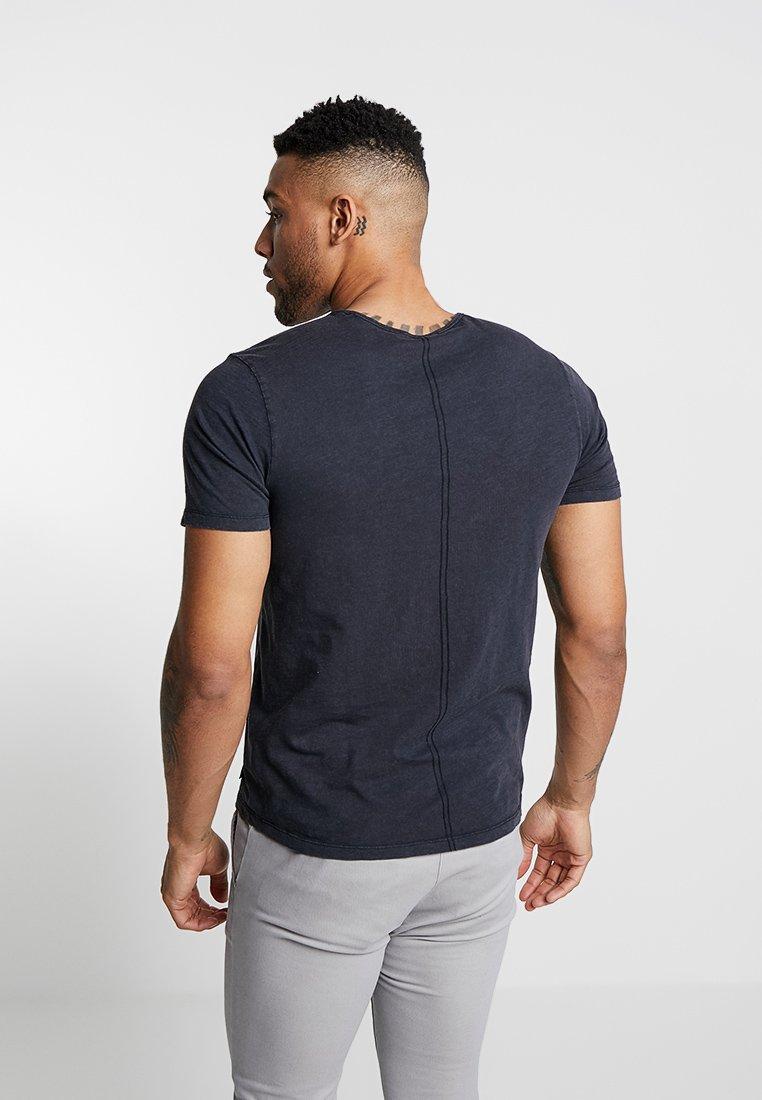 Jack & Jones PREMIUM JPRDREW BLA - T-shirt basique black