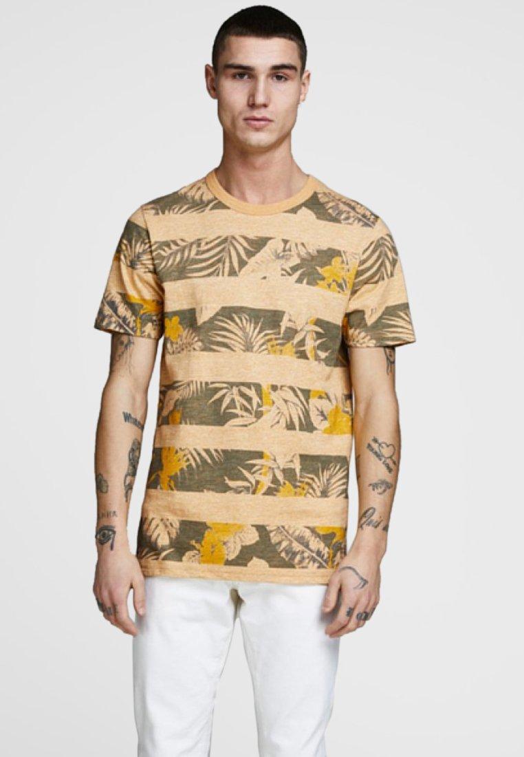 Jack & Jones PREMIUM - Print T-shirt - yellow