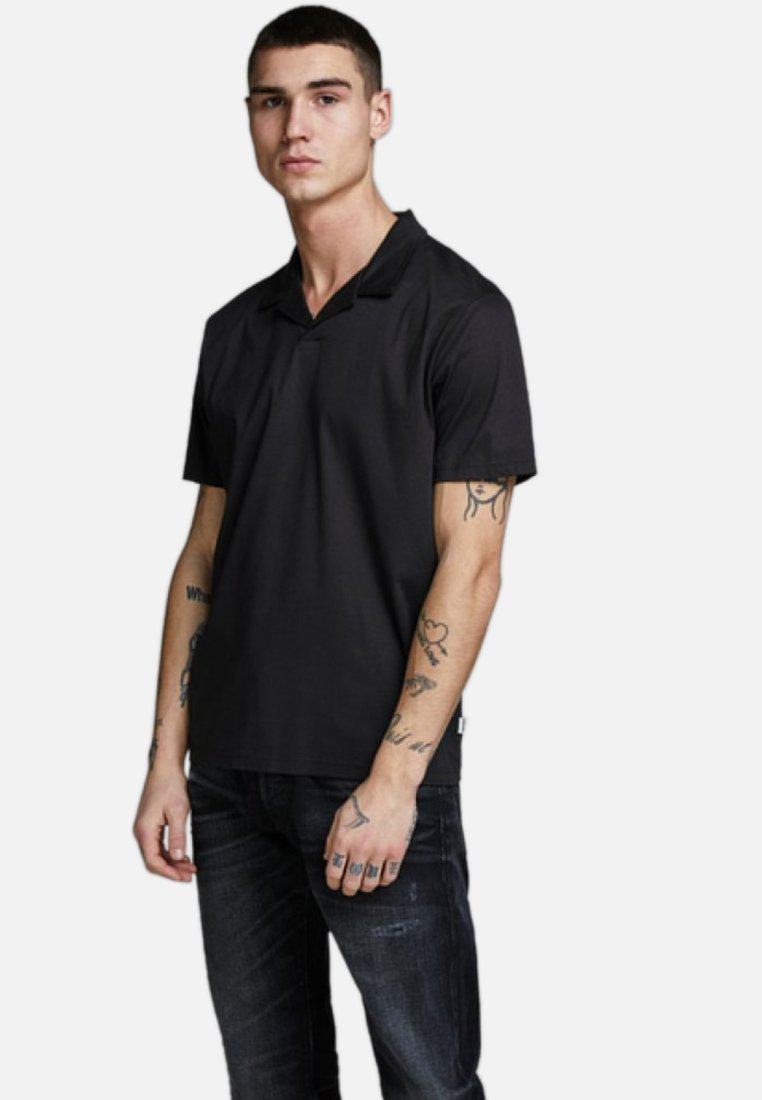 Jack & Jones PREMIUM - Polo shirt - black