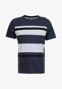 Jack & Jones PREMIUM - JPRBRANDON TEE CREW NECK - Print T-shirt - dark navy - 4