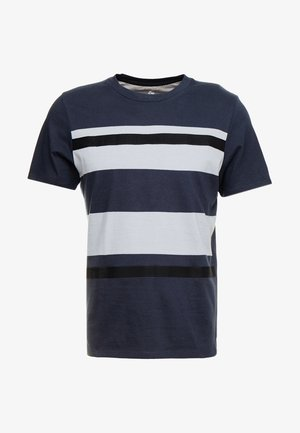 JPRBRANDON TEE CREW NECK - Camiseta estampada - dark navy