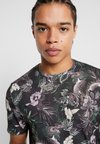 Jack & Jones PREMIUM - JPRLEONARD TEE CREW NECK - T-Shirt print - black