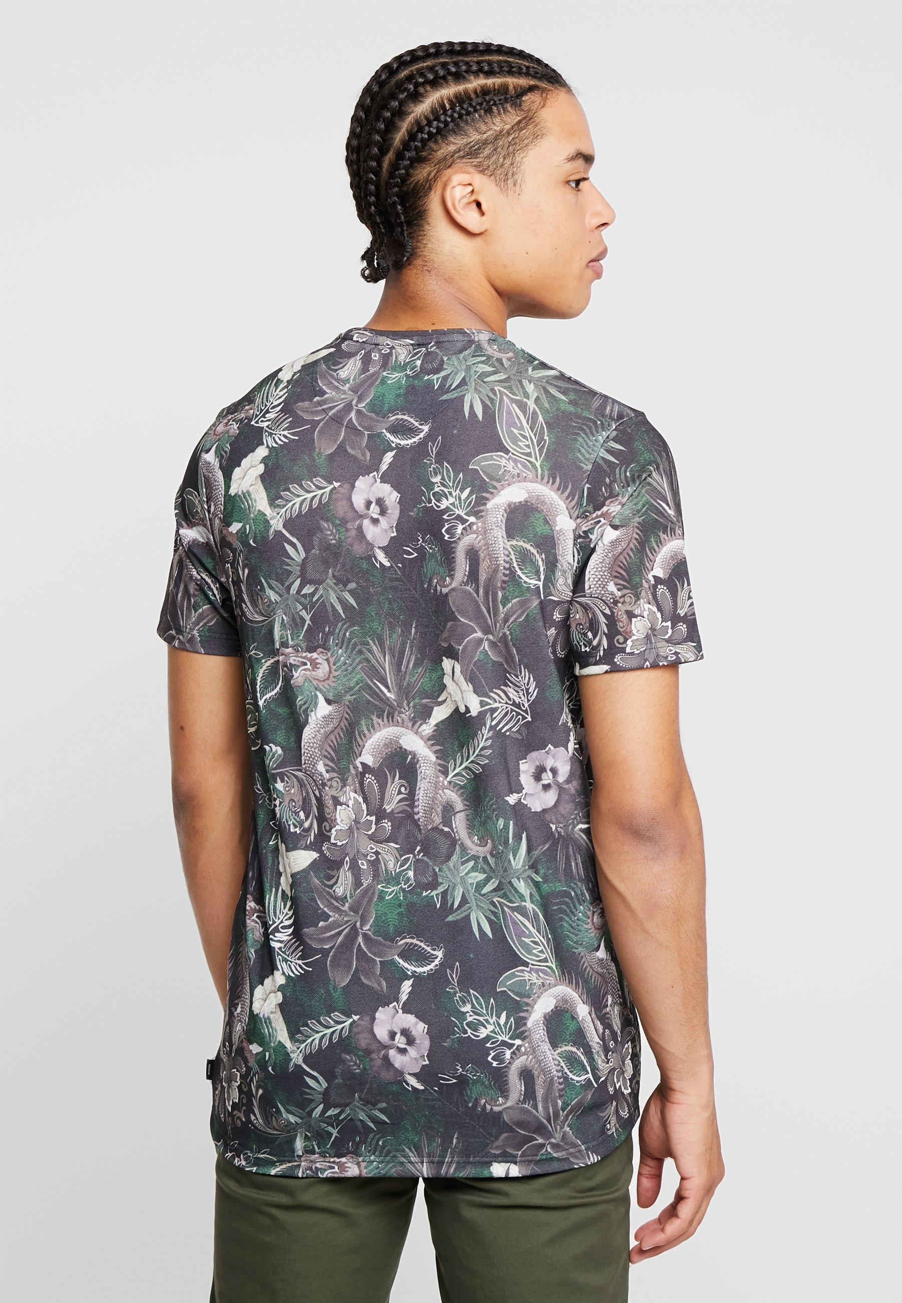 Tee NeckT Con Stampa Jackamp; shirt Crew Jprleonard Premium Black Jones uPZkTiOX