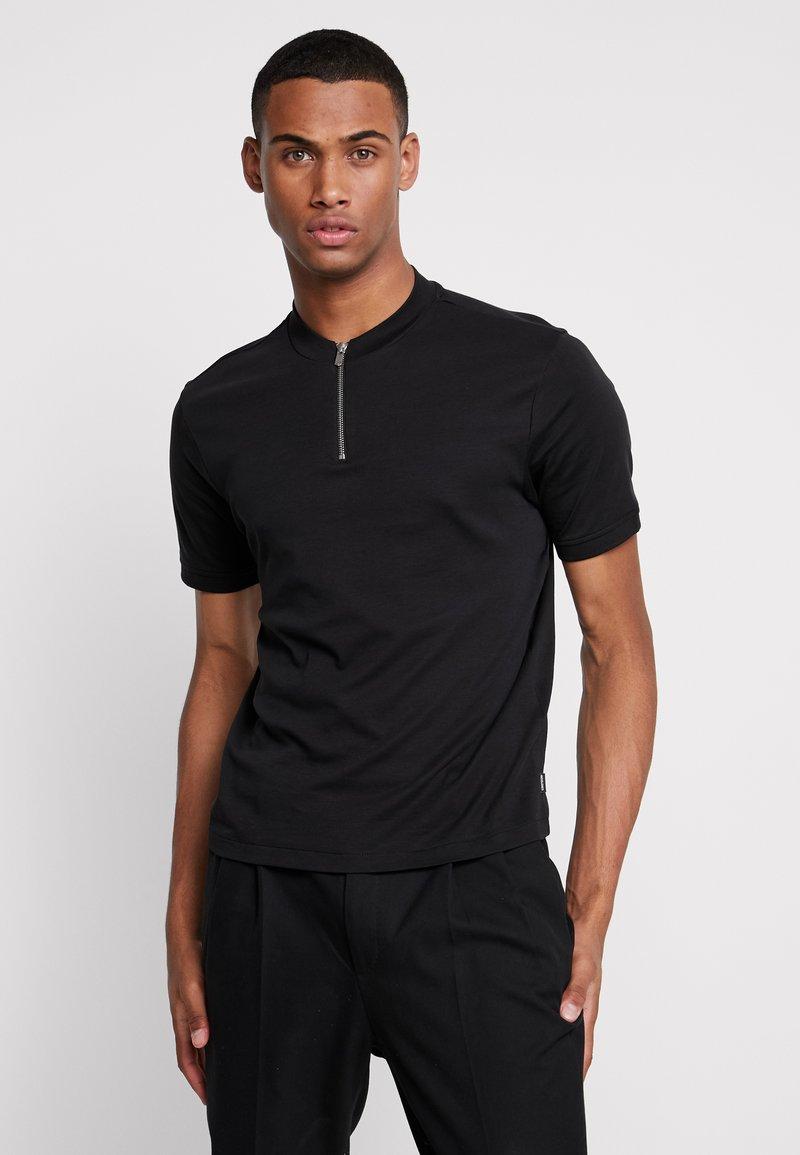 Jack & Jones PREMIUM - JPRFELIX BLA MAO TEE - T-shirt basique - black