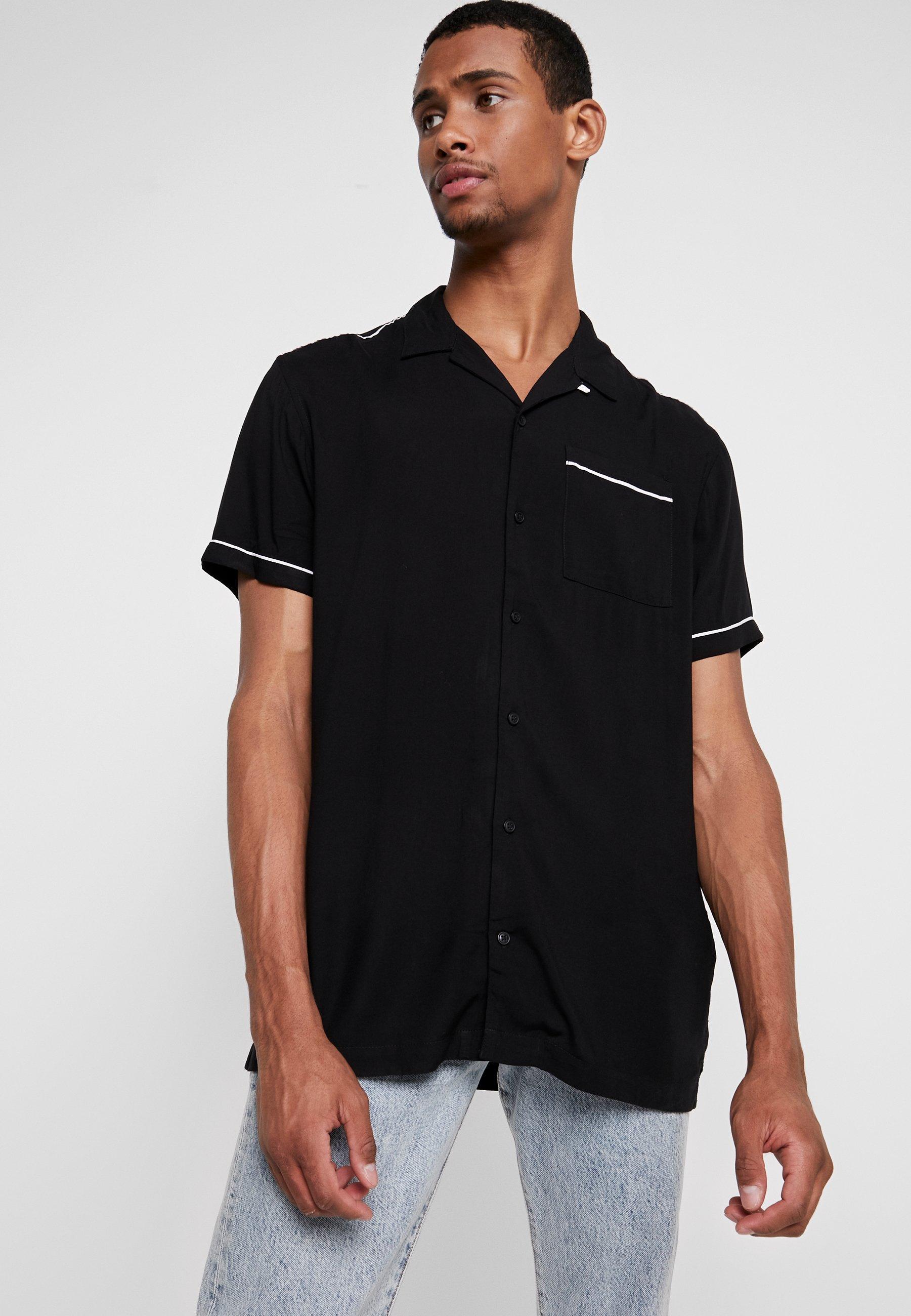 Jackamp; Jones Premium Jprnoah PipedT Black shirt Imprimé f6gymY7Ibv