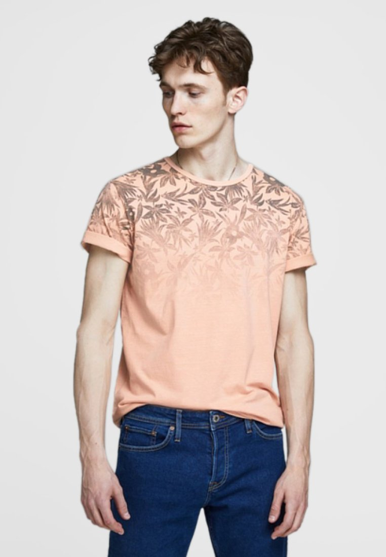 Jack & Jones PREMIUM - Print T-shirt - evening sand