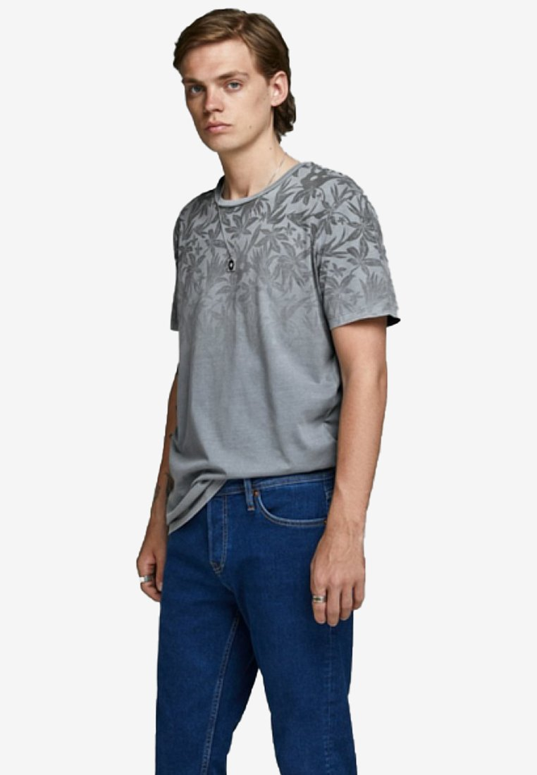 Jack & Jones PREMIUM - T-shirt print - flint stone