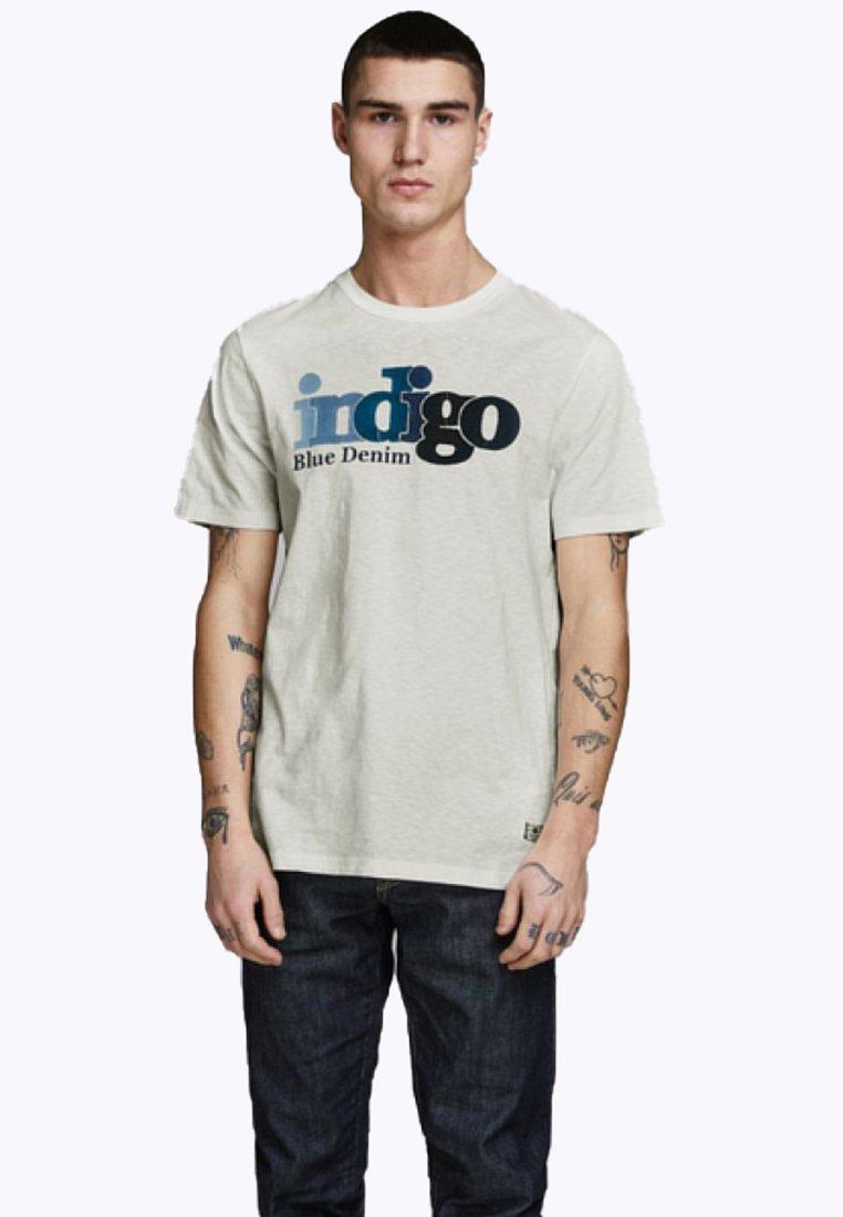 Jack & Jones PREMIUM - T-Shirt print - off-white
