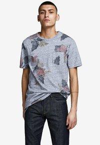 Jack & Jones PREMIUM - Print T-shirt - dark blue - 0