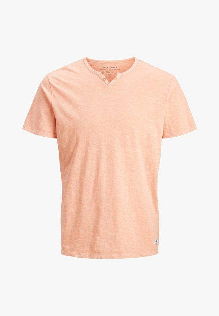 Jack & Jones PREMIUM - T-shirt z nadrukiem - beige