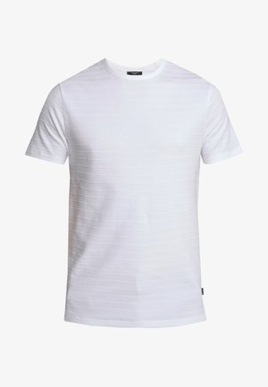 JPRGERARD TEE CREW NECK - Jednoduché triko - white