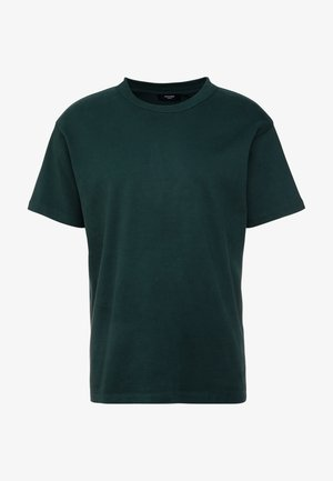 JPRNIGHT TEE CREW NECK - T-shirt basic - darkest spruce