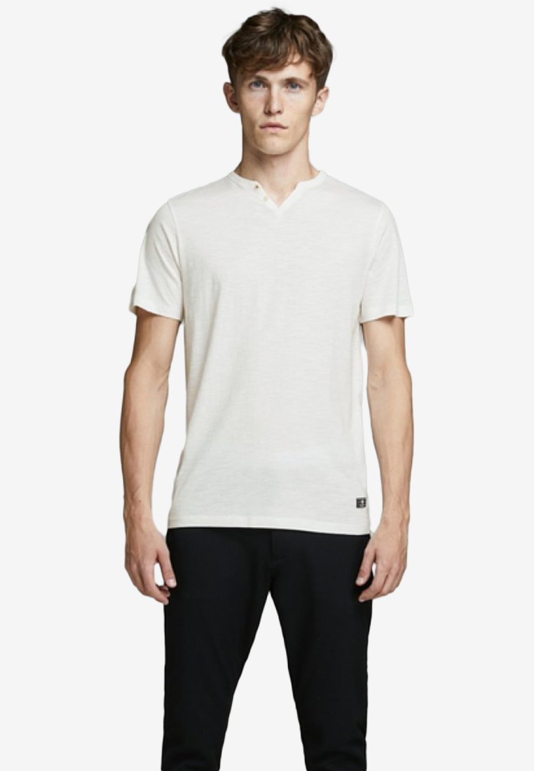 Jack & Jones PREMIUM - T-Shirt print - cloud dancer