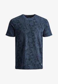 Jack & Jones PREMIUM - KENTON  - Print T-shirt - mood indigo - 6