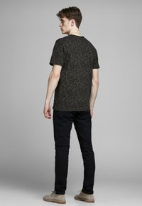 Jack & Jones PREMIUM - KENTON  - Print T-shirt - black - 2